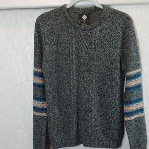 COTTON ON black and gray knitted sweater